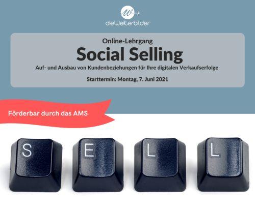 Online-Lehrgang SOCIAL SELLING von dieWeiterbilder