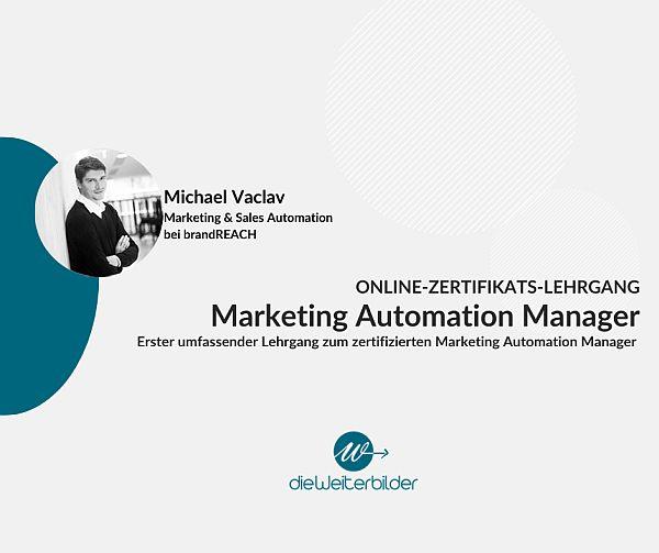 Erster Online-Zertifikats-Lehrgang Marketing Automation Manager