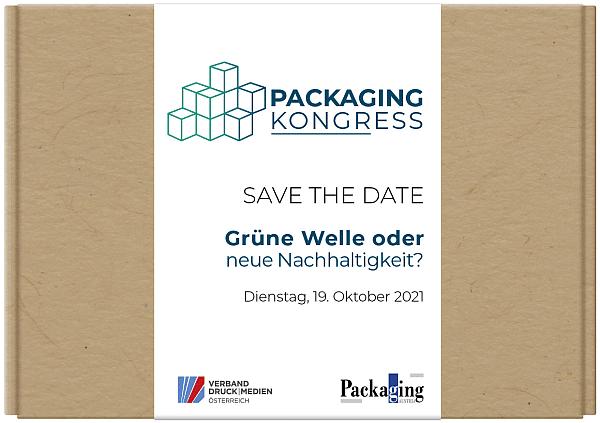 """Packaging Kongress """"Grüne Welle oder neue Nachhaltigkeit?"""""""